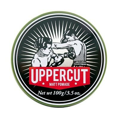 Uppercut Deluxe Matt Pomade Hair Styling Product, Slickback, Quiff 100g *NEW*