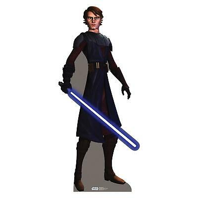 Pappaufsteller (Stand Up) Star Wars Clone Wars Anakin Skywalker (186 cm)