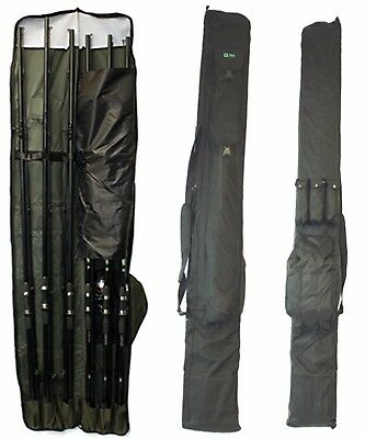 3 + 3 Q Dos Made Up Rod And Reel Padded Holdall Bag Carp Fishing Tackle Ghf003