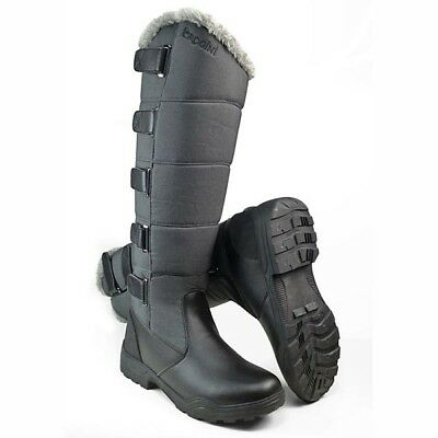 BROGINI FORTE LONG WARM WINTER HORSE RIDING / WALKING BOOTS  charcoal