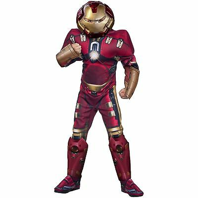 Adults Avengers Hulk Buster Muscle Chest Fancy Dress Halloween Party Costume