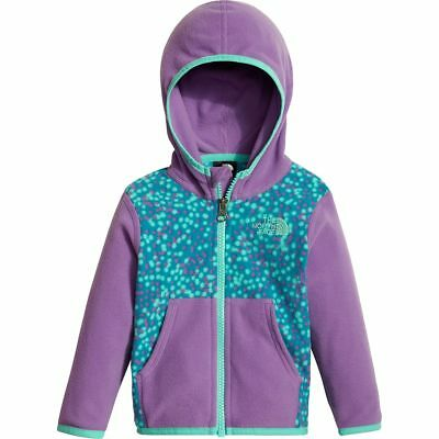 ad2968410 THE NORTH FACE Infant Baby Girl's GLACIER FULL-ZIP FLEECE HOODIE Jacket  6-12M