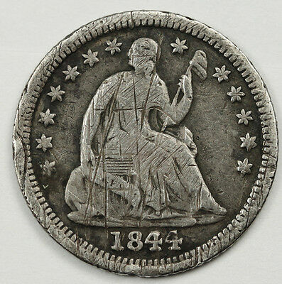 1844-o Seated Liberty Half Dime.  V.F. Detail.  85970
