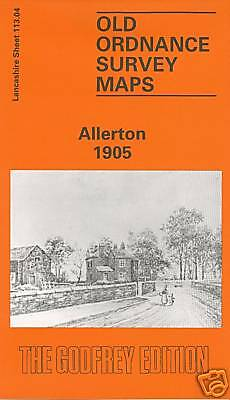 Old Ordnance Survey Map Allerton 1905