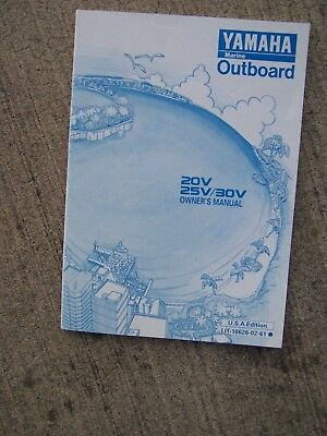 1996 YAMAHA OUTBOARD Motor C40V Owner Manual MORE BOAT ITEMS IN OUR