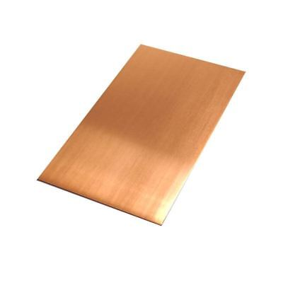 "C110 Copper Sheet 0.021 (24 ga.), 6"" Width, 12"" Length, Mill Finish"