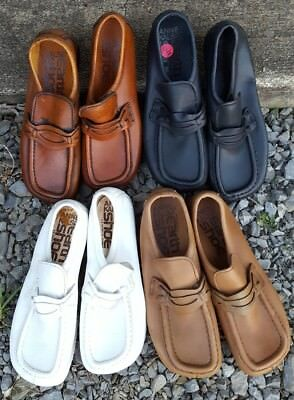 500 PR LOT ANNE KALSO EARTH Vintage Old Stock Leather Loafers Shoes SZ 5 - 8