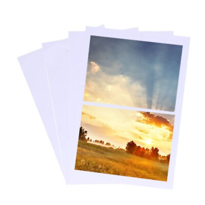 100Sheets White A4 200Gsm High Glossy Photo Paper Inkjet Printers Paper Heavy AU