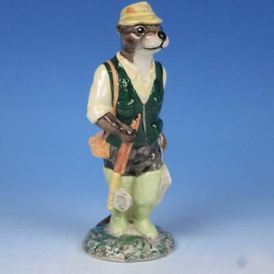 Beswick China - Fisherman Otter Figurine - ECF2