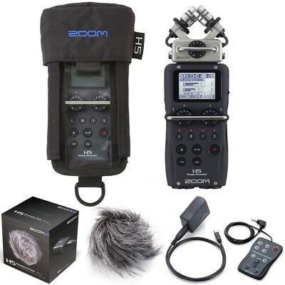 ZOOM H5 HANDY Recorder with PCH-5 Protective Case for H5 & APH-5 Accessory  Pack
