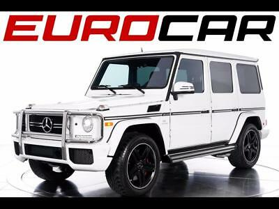 2015 Mercedes-Benz G-Class G63 AMG 2015 Mercedes-Benz G63 AMG - STUNNING MYSTIC RED INTERIOR, ONE LOCAL OWNER!