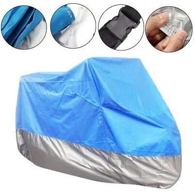 Motorcycle Cover XL Waterproof Bike Outdoor Rain Dust UV Protector Scooter