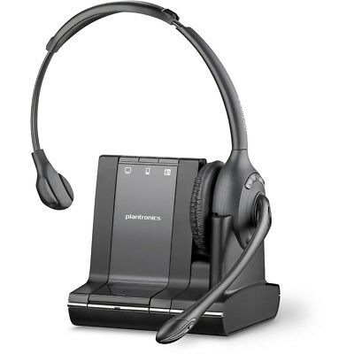 NEW Plantronics S SAVI W710-M OVER-THE-HEAD MONAURAL WIRELESS UC DECT SYSTEM -LY