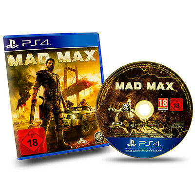 Ps4 - Playstation 4 Spiel Mad Max (USK 18) in Ovp