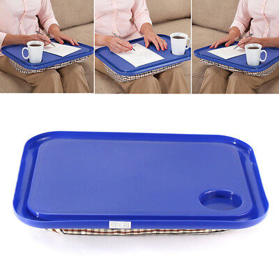 Portable Handy Lap Top Tray Holder Laptop Table Learning Outdoor Breakfast Desk