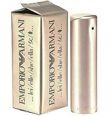 EMPORIO ARMANI SHE 100ml  EAU DE PARFUM  FOR WOMEN  RRP $140.00