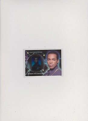 Enterprise Season 2 Gallery Card G5 Anthony Montgomery As Ensign Mayweather