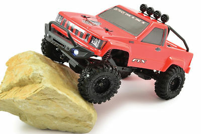 FTX Outback MINI Trail RED Pickup Truck 1:24 Ready To Run Rock Crawler RC Car