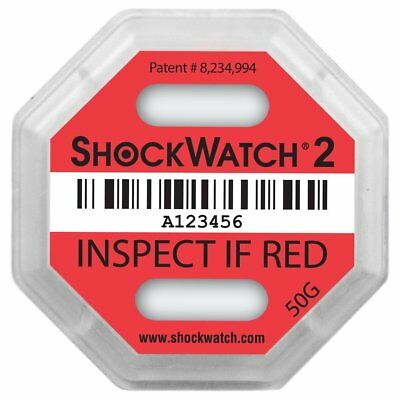 ShockWatch 2 50g, 10 Pack