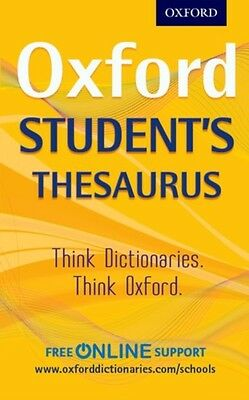 Oxford Students Thesaurus, Oxford Dictionaries, 9780192749390