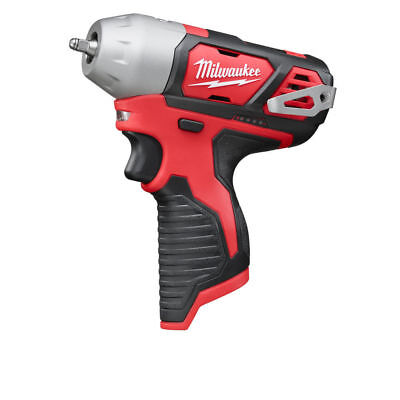 "Milwaukee M12BIW14 12V Sub Compact Cordless Impact Wrench Gun Bare Unit 1/4"" NEW"