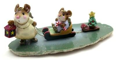 WEE FOREST FOLK 2001 Lighting The Way M-262 Mint In Box