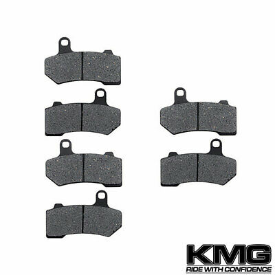 Front + Rear NAO Brake Pads For 2008-2011 Harley Ultra Classic Electra Glide