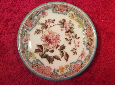 Antique Georges Jones English Porcelain Butter Pat c1872-1929, p281 GIFT QUALITY