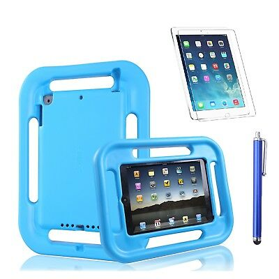 2017 iPad 9.7 inch Shockproof Case for Kids w/Screen Protector/Precision Stylus