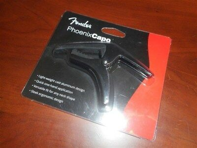 NEW - Fender Phoenix Capo For Acoustic & Electric Guitar - #099-0413-000