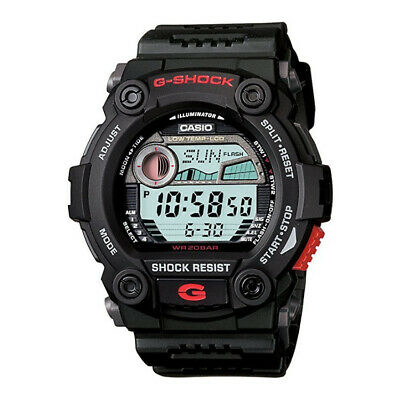 Casio Men's G7900-1 G-Shock Rescue Digital Sport Watch Tide and Moon Data Black