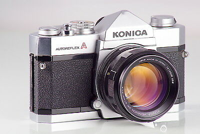 Preciosa Konica Autoreflex A + Hexanon Ar 1.4 57  Excellent Cla Serviced Tested