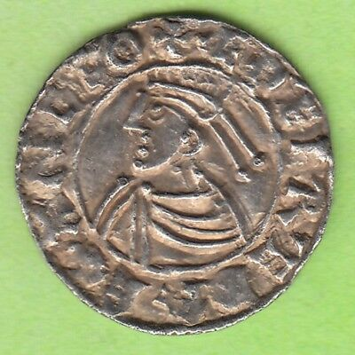 leipzig England Penny Aethelred II 978-1016 Winchester Oda in vz rare