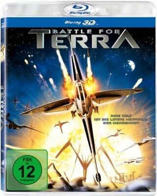 Battle for Terra (2007) 3D + 2D Blu-Ray Import BRAND NEW FreeShip USA Compatible