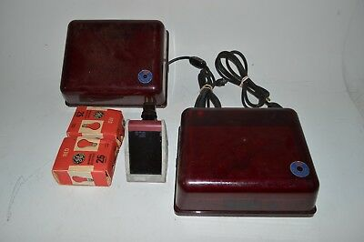 nuArc Darkroom Safelights Red Light Wall Mountable Lot of 2 and Kodak 2-Way