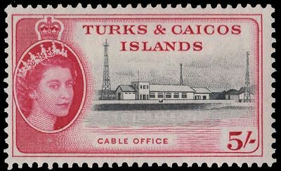 "TURKS and CAICOS 133 (SG249) - Queen Elizabeth II ""Cable Office"" (pa34791)"