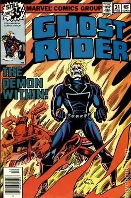 Ghost Rider (1st Series) #34 1979 VG 4.0 Stock Image Low Grade