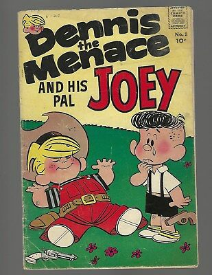 Dennis The Menace And His Pal Joey #1