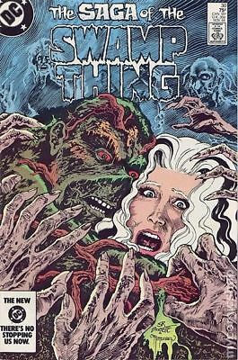 Swamp Thing (2nd Series) #30 1984 FN Stock Image
