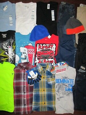 Boys FALL WINTER Sz 8 Lot CLOTHES & OUTFITS  TCP Old Navy Tek Gear TCP Amplify
