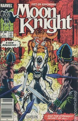 Moon Knight (2nd Series) Fist of Khonshu Canadian Price Variant #1 1985 FN