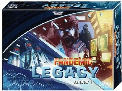 Pandemic Legacy Blue Season 1 Board Game New Factory Sealed Card Game