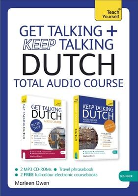 Get Talking and Keep Talking Dutch Total Audio Course: (Audio pack) The essenti.