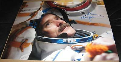 Chris Hadfield Canada Astronaut, NASA, SOYUZ auto 11x14 Photo w/COA