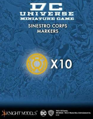 Knight Models DC Universe Figure Sinestro Corps Markers MINT
