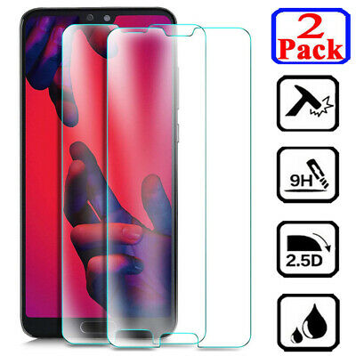 2Pcs 9H Tempered Glass Screen Protector For Huawei Mate 20 lite 8 9 Mate 10 Pro