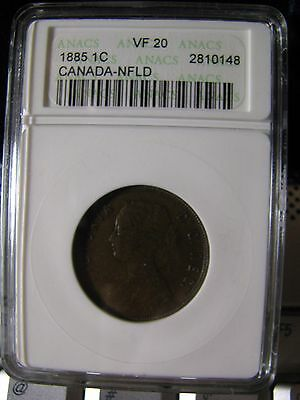Canada . New Foundland  1885    1 Cent