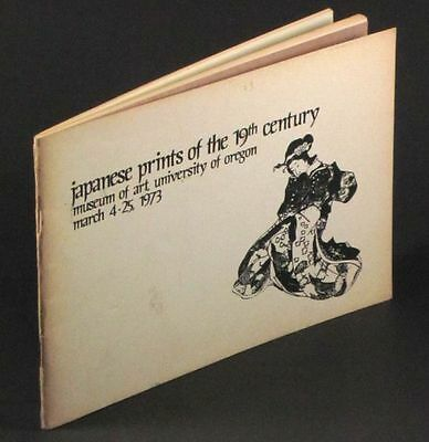 19th Century Antique Japanese Prints - the Warner Collection 1973 Catalog