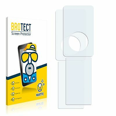2x Matte Screen Protector Apple iPod classic (Front + Back, 5.5 Generation)