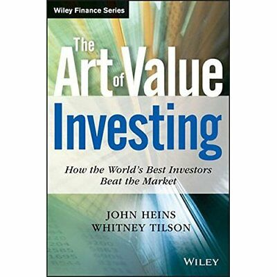 The Art of Value Investing: How the World's Best Invest - Hardcover NEW Heins, J